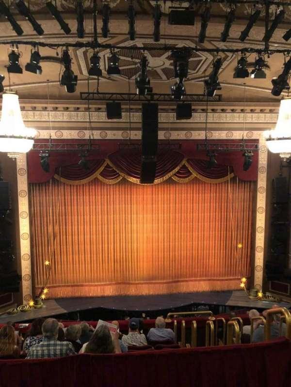 Imperial Theatre, secção: Rear Mezzanine 3, fila: A, lugar: 11