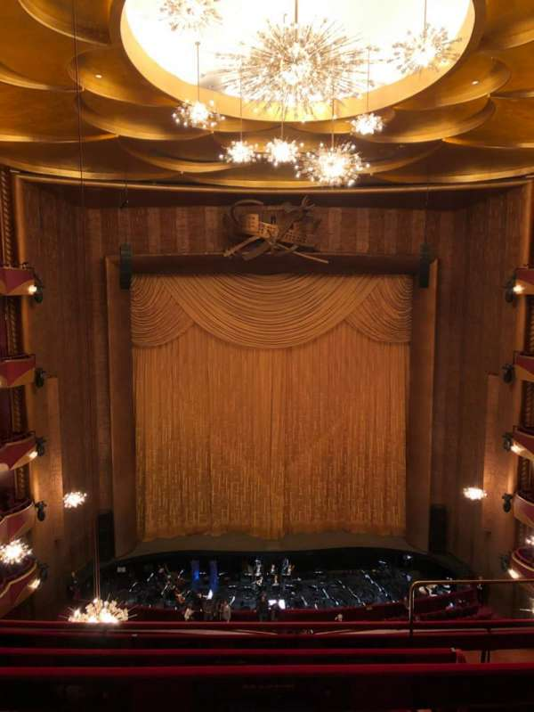 Metropolitan Opera House - Lincoln Center, secção: Balcony, fila: D, lugar: 103