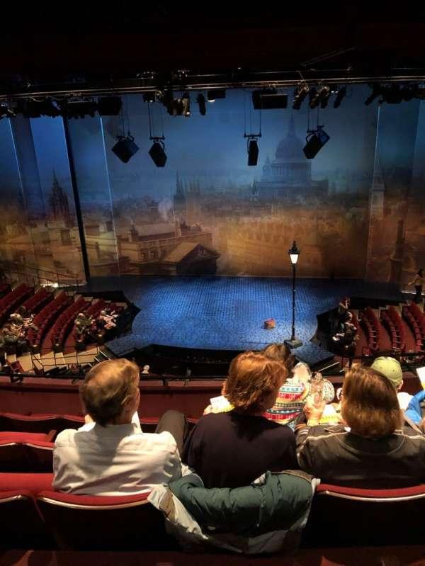 Vivian Beaumont Theater, secção: Loge C, fila: E, lugar: 315