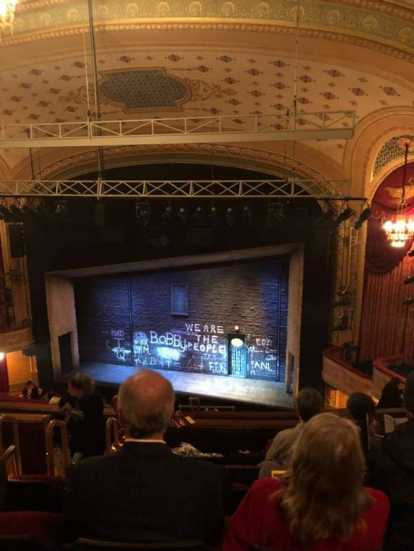 Bernard B. Jacobs Theatre, secção: Mezzanine R, fila: K, lugar: 8