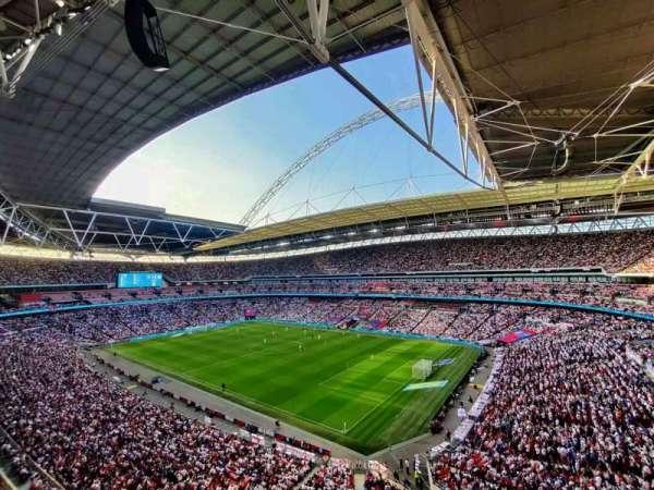 Wembley Stadium, secção: 520, fila: 1, lugar: 207