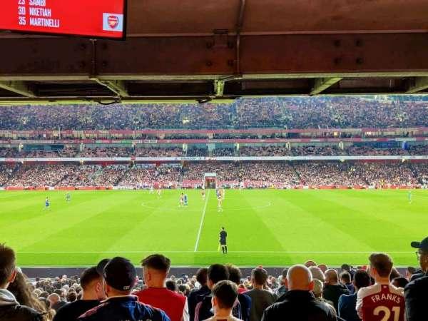 Emirates Stadium, secção: 16, fila: 27, lugar: 508