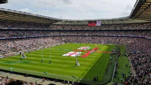 Twickenham Stadium, secção: M17, fila: 68, lugar: 38