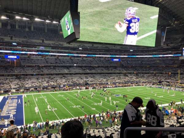 AT&T Stadium, secção: C239, fila: 12, lugar: 1