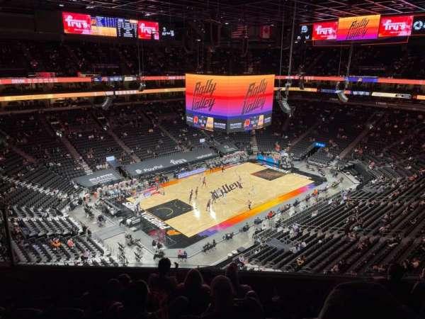 PHX Arena, secção: 223, fila: 6, lugar: 13