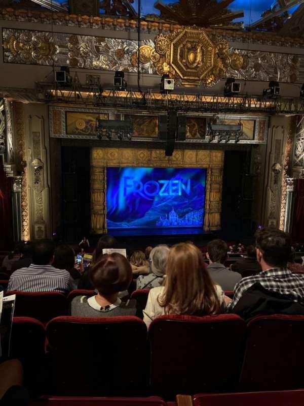 Hollywood Pantages Theatre, secção: Mezzanine LC, fila: H, lugar: 3