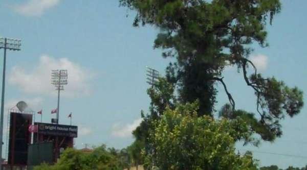 Spectrum Field, secção: Outside view of the stadium.