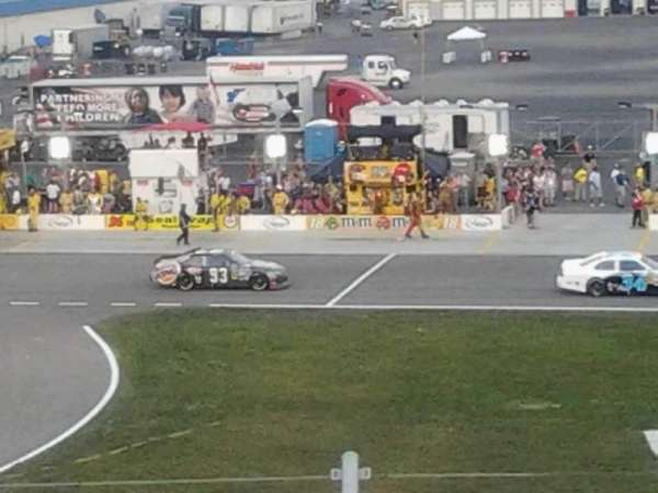 Kentucky Speedway, secção: 3f, fila: 10, lugar: 6