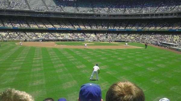 Dodger Stadium, secção: 305PL, fila: g, lugar: 1