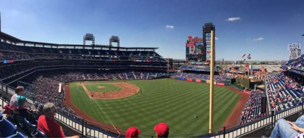 Citizens Bank Park, secção: 307, fila: 3, lugar: 17