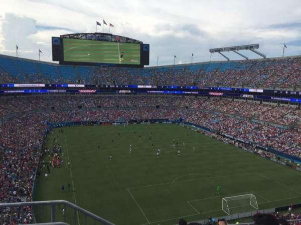 Bank of America Stadium, secção: 531, fila: 3, lugar: 13