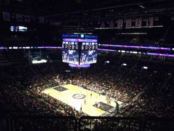 Barclays Center, secção: 220, fila: 10, lugar: 7