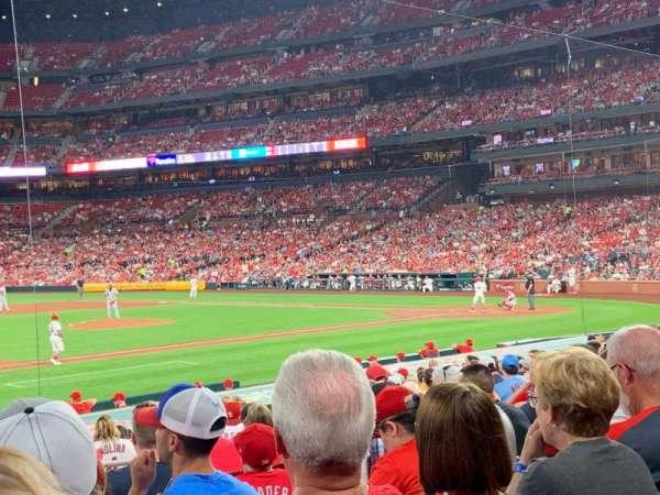 Busch Stadium, secção: 159, fila: 9, lugar: 7