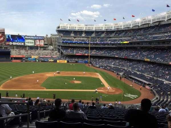 Yankee Stadium, secção: 223, fila: 18, lugar: 20