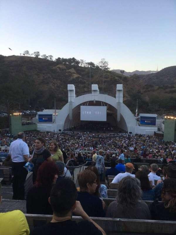 Hollywood Bowl, secção: M2, fila: 11, lugar: 119