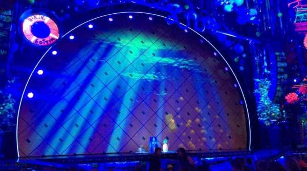 Palace Theatre (Broadway), secção: Orchestra, fila: L, lugar: 13