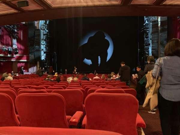 Broadway Theatre - 53rd Street, secção: Orchestra Center, fila: T, lugar: 101