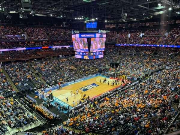 Nationwide Arena, secção: 206, fila: B, lugar: 8