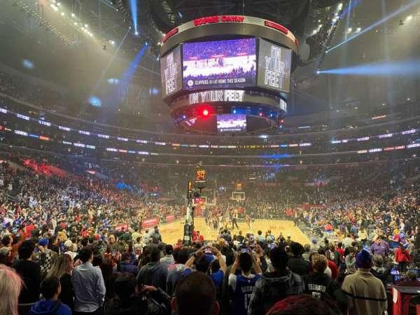Staples Center, secção: 115, fila: 6, lugar: 11