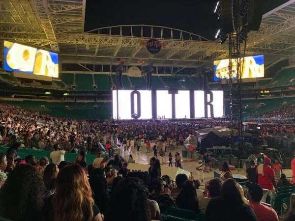 Hard Rock Stadium, secção: 138, fila: 13, lugar: 14