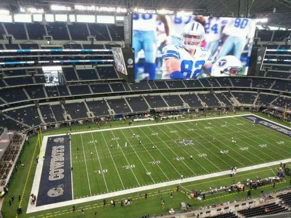 AT&T Stadium, secção: 446, fila: 5, lugar: 21