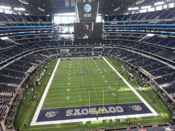 AT&T Stadium, secção: 428, fila: 1, lugar: 9