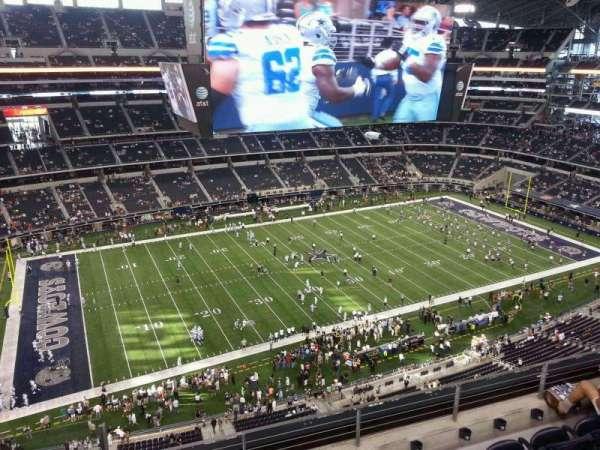 AT&T Stadium, secção: 416, fila: 5, lugar: 22