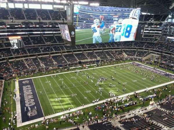 AT&T Stadium, secção: 416, fila: Handicap R