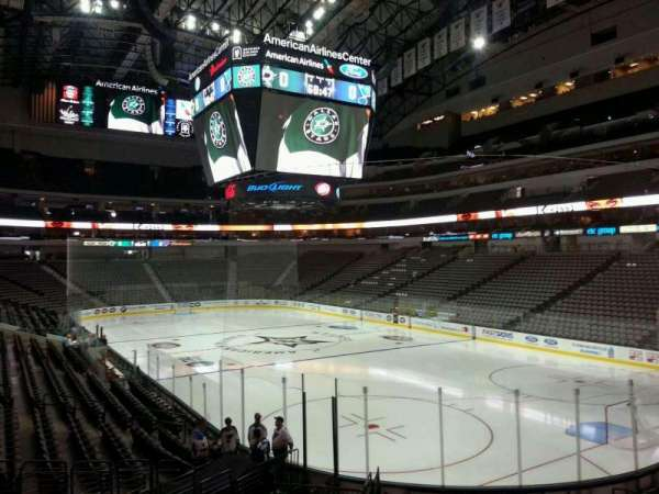 American Airlines Center, secção: 114, fila: S, lugar: 19