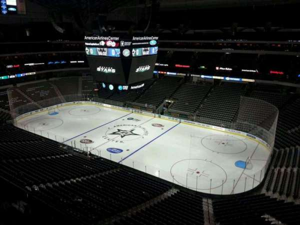 American Airlines Center, secção: 306, fila: C, lugar: 13