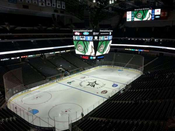 American Airlines Center, secção: 314, fila: B, lugar: 14