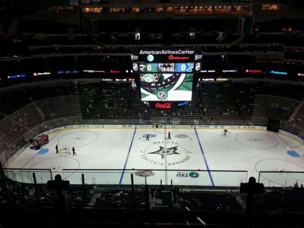 American Airlines Center, secção: 326, fila: G, lugar: 9