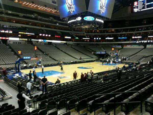 American Airlines Center, secção: 121, fila: L, lugar: 7