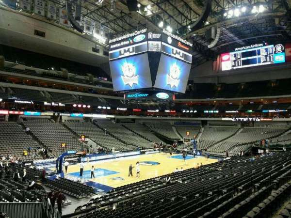 American Airlines Center, secção: 110, fila: U, lugar: 2