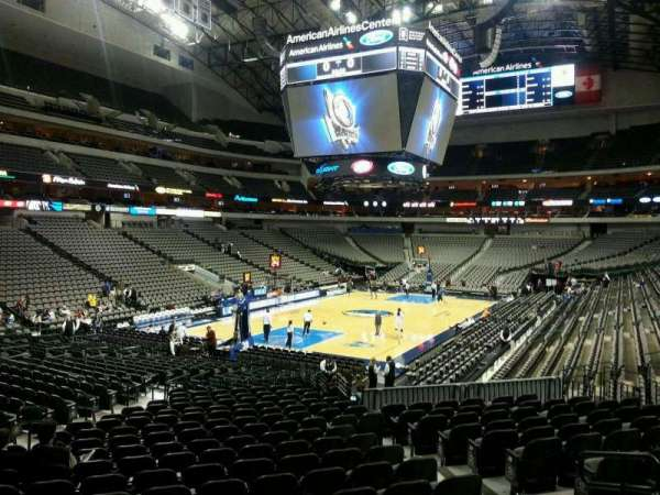 American Airlines Center, secção: 111, fila: T, lugar: 8