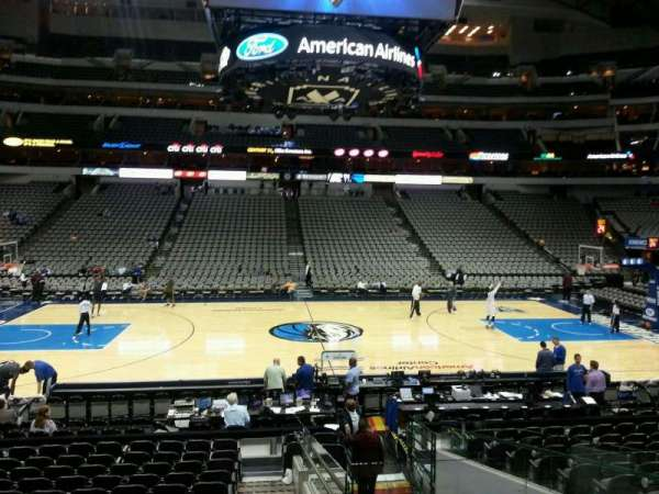 American Airlines Center, secção: 119, fila: O, lugar: 4