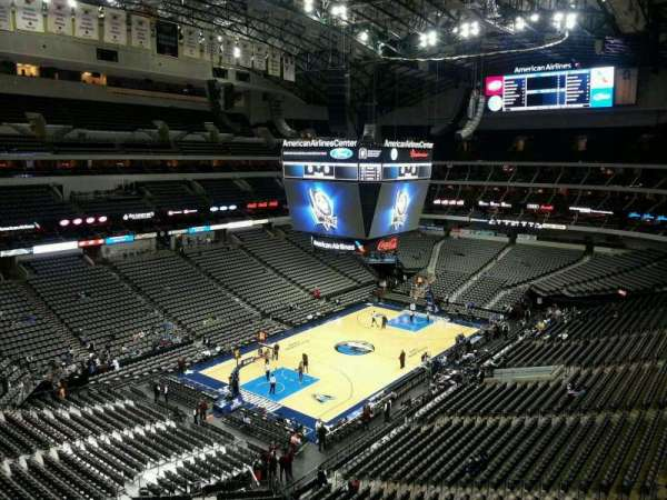 American Airlines Center, secção: 331, fila: EE, lugar: 12