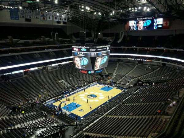 American Airlines Center, secção: 314, fila: G, lugar: 17