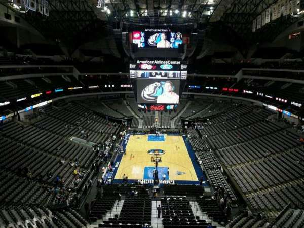 American Airlines Center, secção: 318, fila: B, lugar: 10