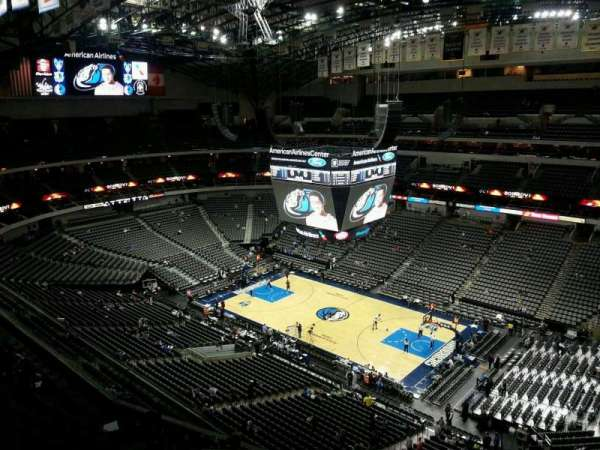 American Airlines Center, secção: 323, fila: J, lugar: 6