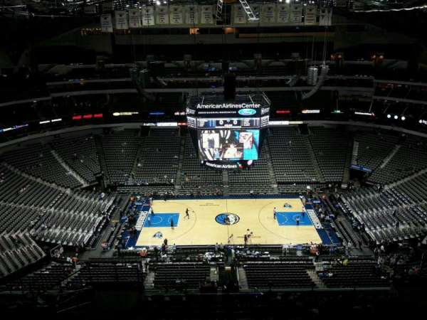 American Airlines Center, secção: 326, fila: R, lugar: 11