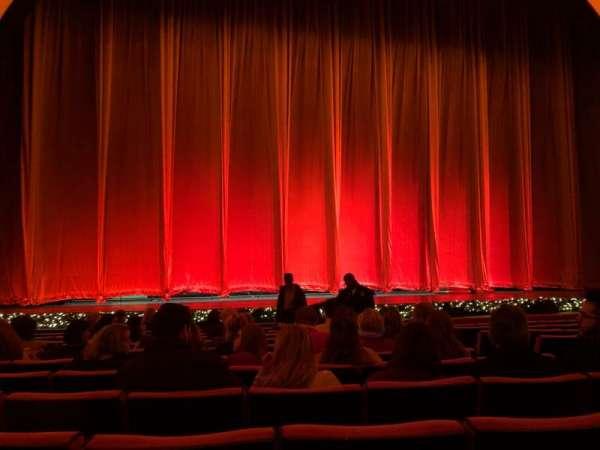 Radio City Music Hall, secção: Orchestra 5, fila: MM, lugar: 505