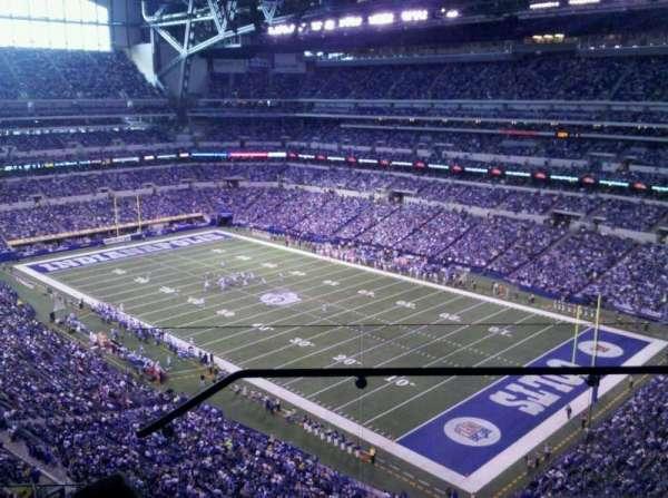 Lucas Oil Stadium, secção: 606, fila: 4, lugar: 2