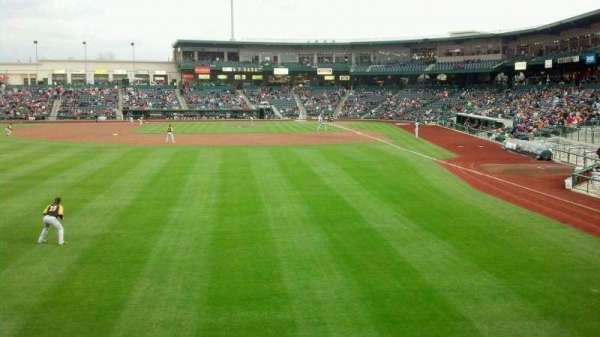 Parkview Field, secção: 118, fila: A, lugar: 1