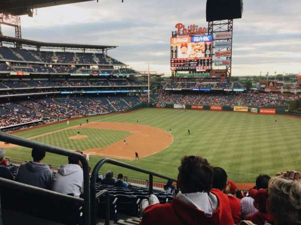 Citizens Bank Park, secção: 211, fila: 12, lugar: 15