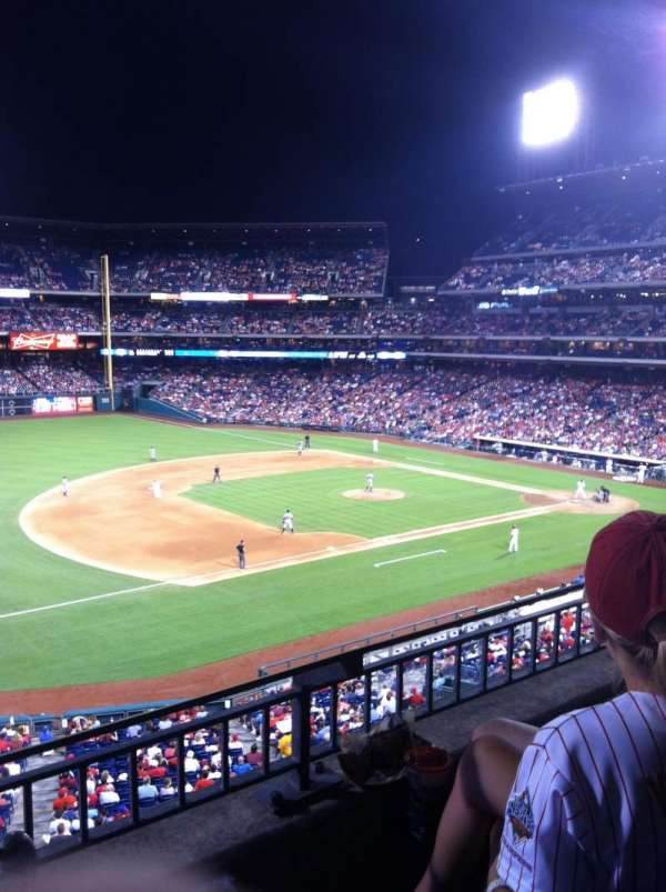 Citizens Bank Park, secção: 232, fila: 3, lugar: 7