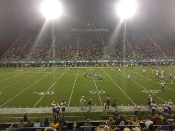 Delaware Stadium, secção: K, fila: K, lugar: 23
