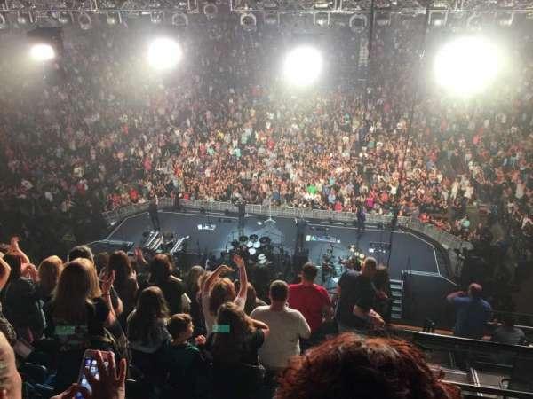 Mohegan Sun Arena, secção: 101, fila: J, lugar: 2