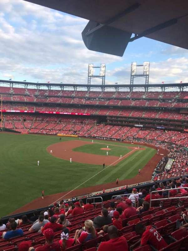Busch Stadium, secção: 268, fila: WC, lugar: 9