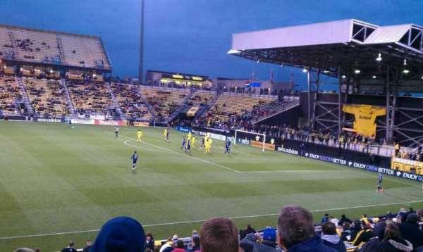 Mapfre Stadium, secção: 105, fila: 19, lugar: 19